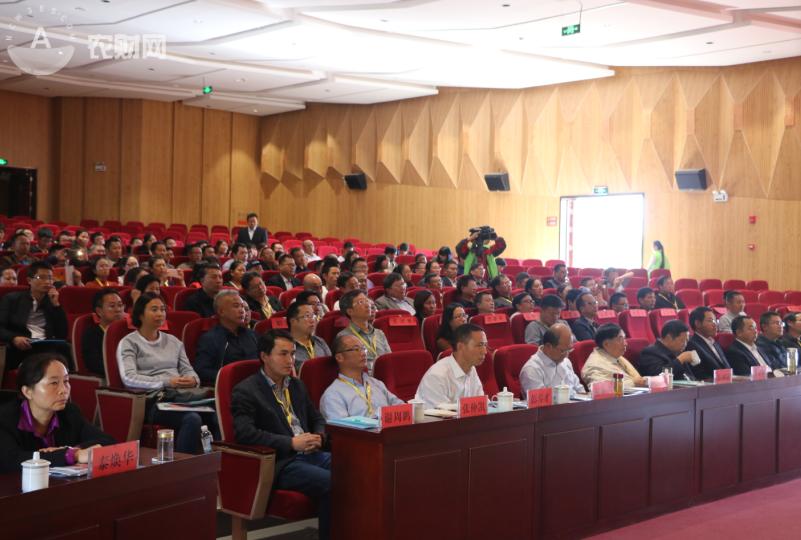 2017云南蔬菜种业发展论坛在云南元谋县图书馆报告厅举行.png